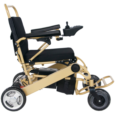 FC-P5 Lightweight Adults Electric Collapsible Wheelchair for outside