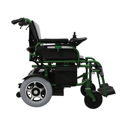 FC-P4 Lightweight Electric Folding Power Wheelchair for Adults
