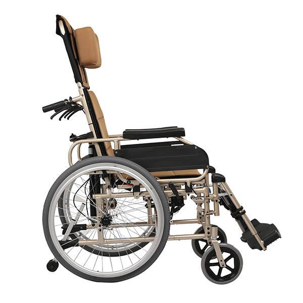 FC-M6 Lightweight Folding Manual Wheel Chairs for Disabled