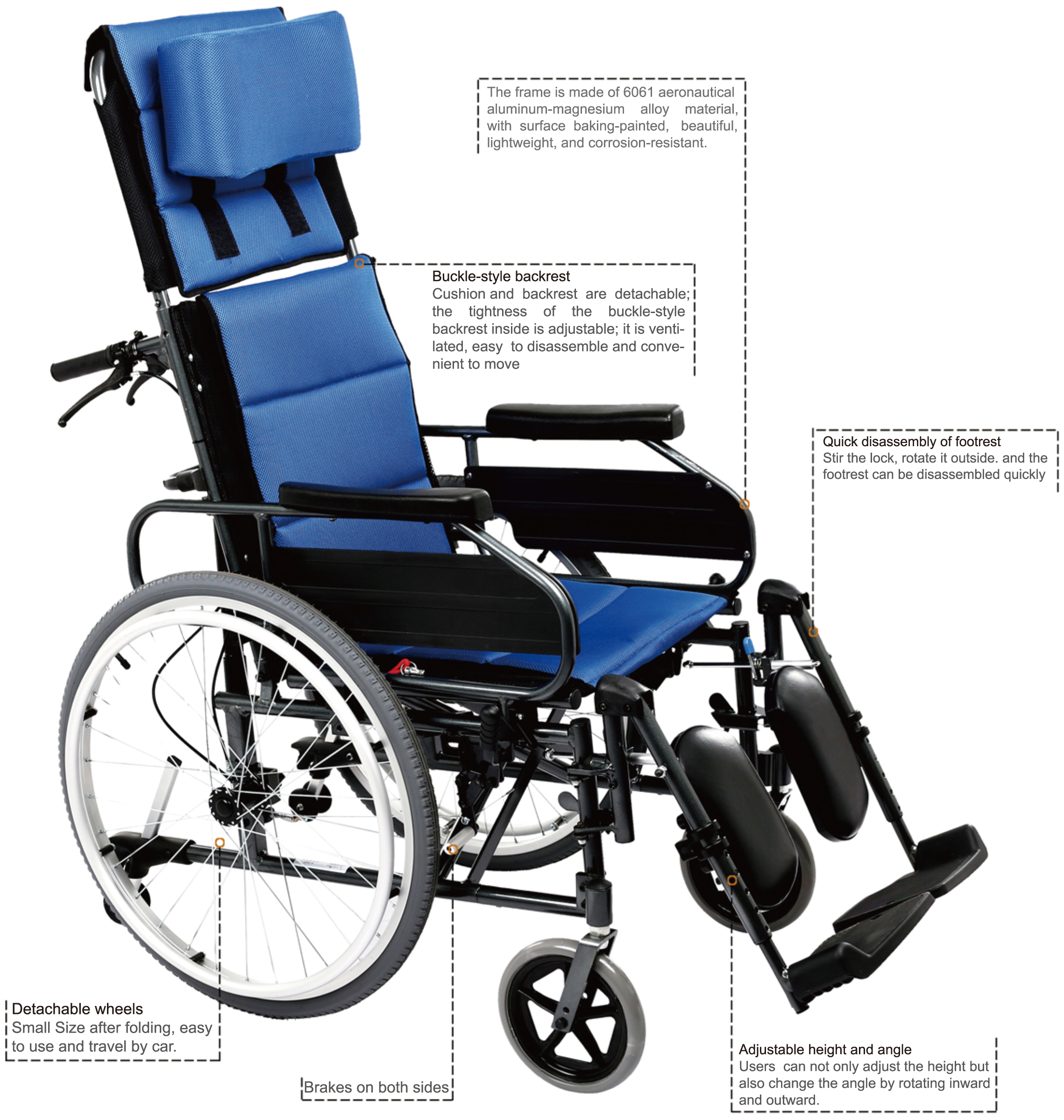 Fine Lightweight Folding Manual Wheel Chairs For Disabled From Theyellowbook Wood Chair Design Ideas Theyellowbookinfo