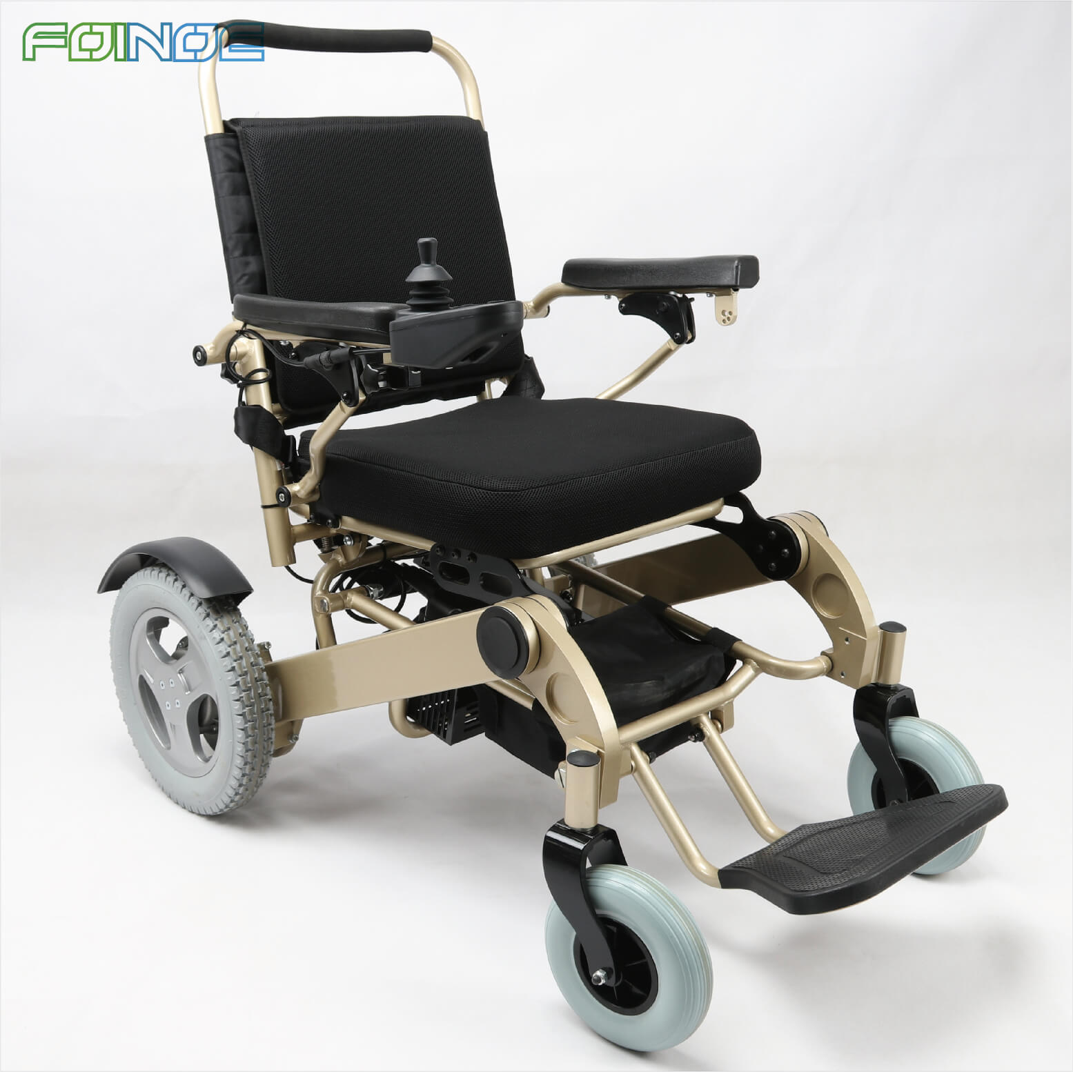 Folding Lightweight Motorized Wheelchair for Adults