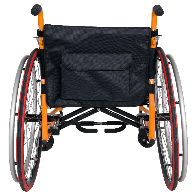FC-M7 Lightweight Handicapped Reclining Manual Sports Wheelchair for Sale