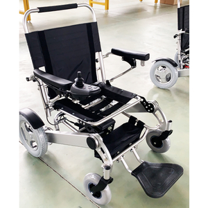 Freedom Folding Ultra Lightweight Extra Wide Power Wheelchair